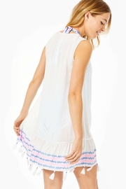 Lilly Pulitzer Totti Embroidery Cover-Up - Front full body