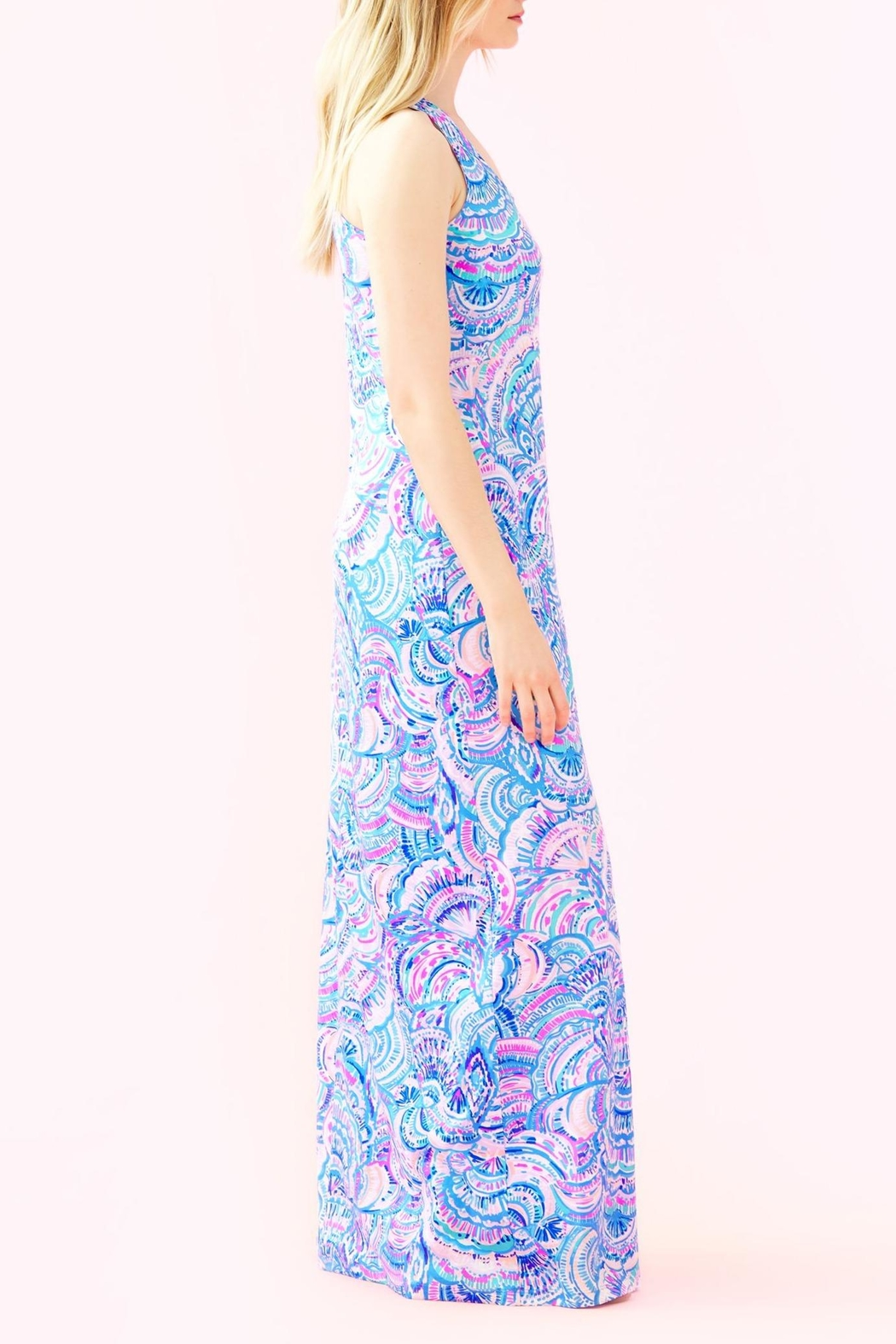 Lilly Pulitzer Treena Maxi Dress - Side Cropped Image