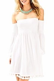 Lilly Pulitzer White Beach Dress - Product Mini Image