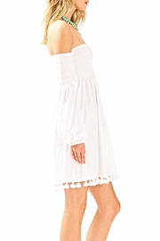 Lilly Pulitzer White Beach Dress - Side cropped