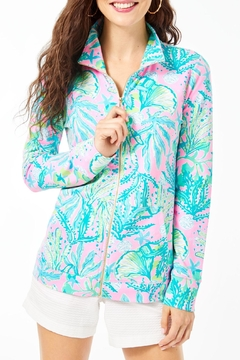 Lilly Pulitzer Upf50+ Betsey Zip-Up - Product List Image