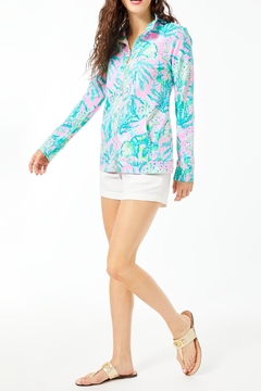 Lilly Pulitzer Upf50+ Betsey Zip-Up - Alternate List Image