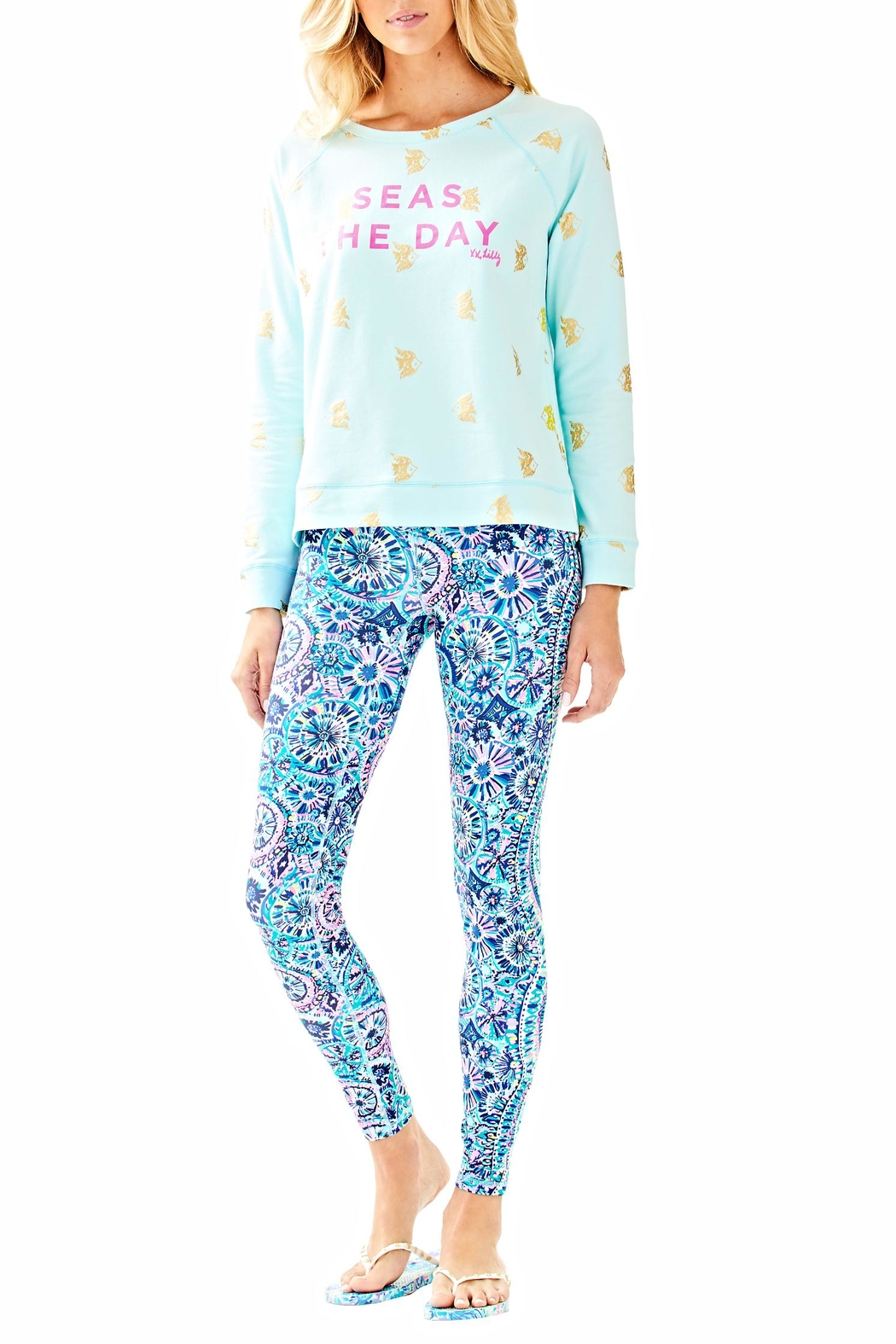 Lilly Pulitzer Braydon Pullover - Side Cropped Image