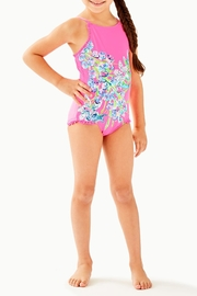 Lilly Pulitzer Upf50+ Juliet Swimsuit - Front cropped