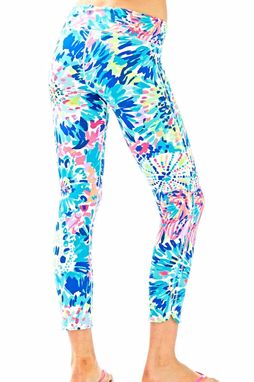 Lilly Pulitzer Weekender Cropped Pant - Front Full Image