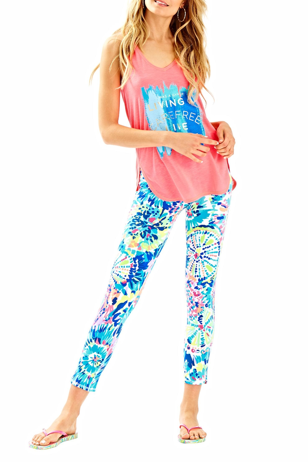 Lilly Pulitzer Weekender Cropped Pant - Back Cropped Image