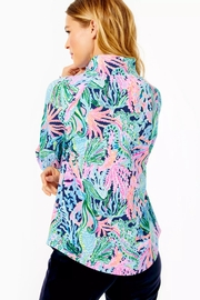 Lilly Pulitzer Upf50+ Skipper Popover - Front full body