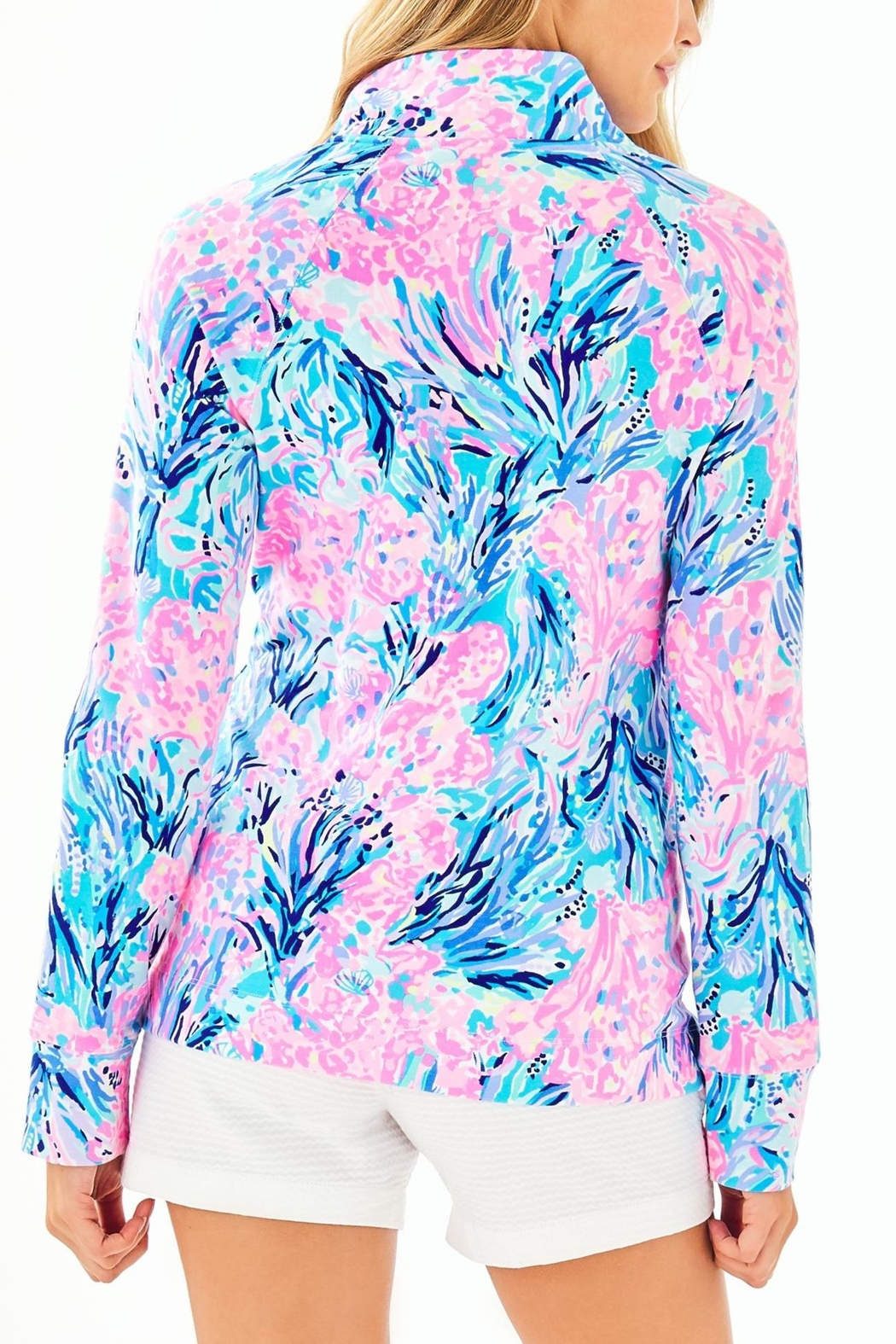 Lilly Pulitzer Upf50+ Skipper Popover - Front Full Image