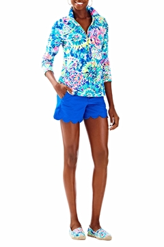Lilly Pulitzer Skipper Printed Popover Top - Alternate List Image