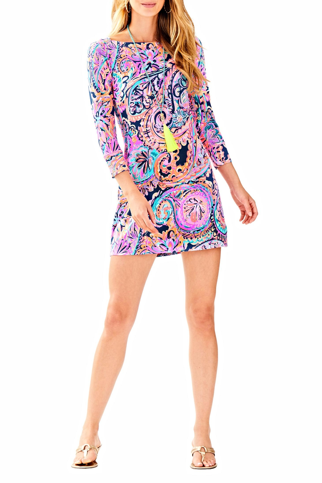 Lilly Pulitzer Sophie Dress - Back Cropped Image