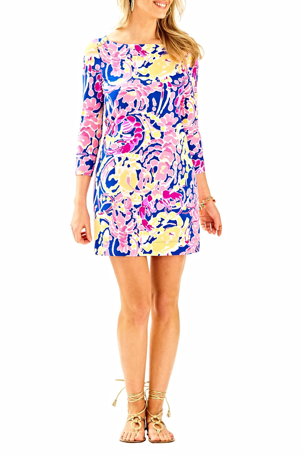 Lilly Pulitzer UPF 50 Sophie Dress - Back Cropped Image