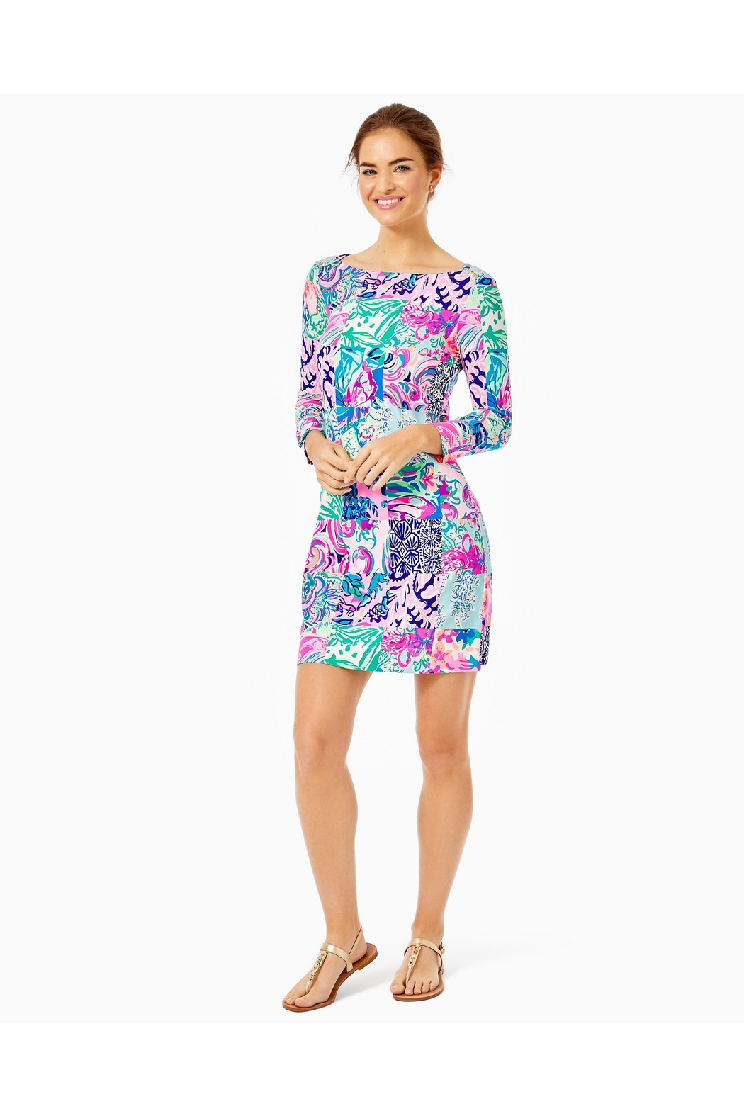 Lilly Pulitzer Upf50+ Sophie Dress - Back Cropped Image