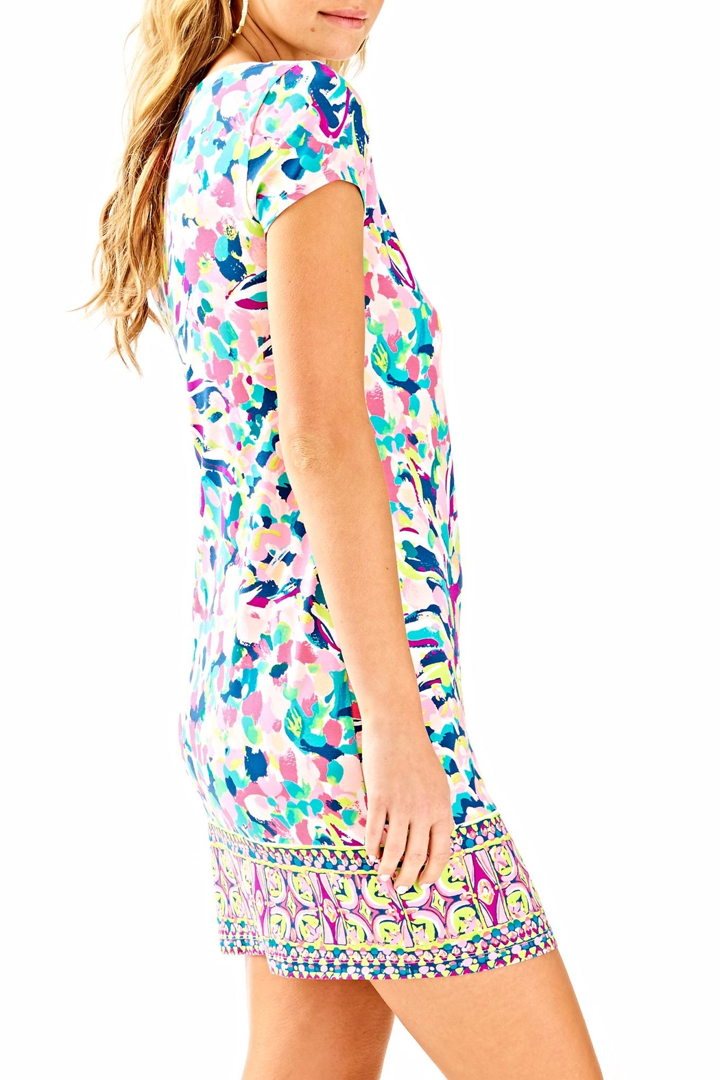 Lilly Pulitzer Sophiletta Dress - Side Cropped Image