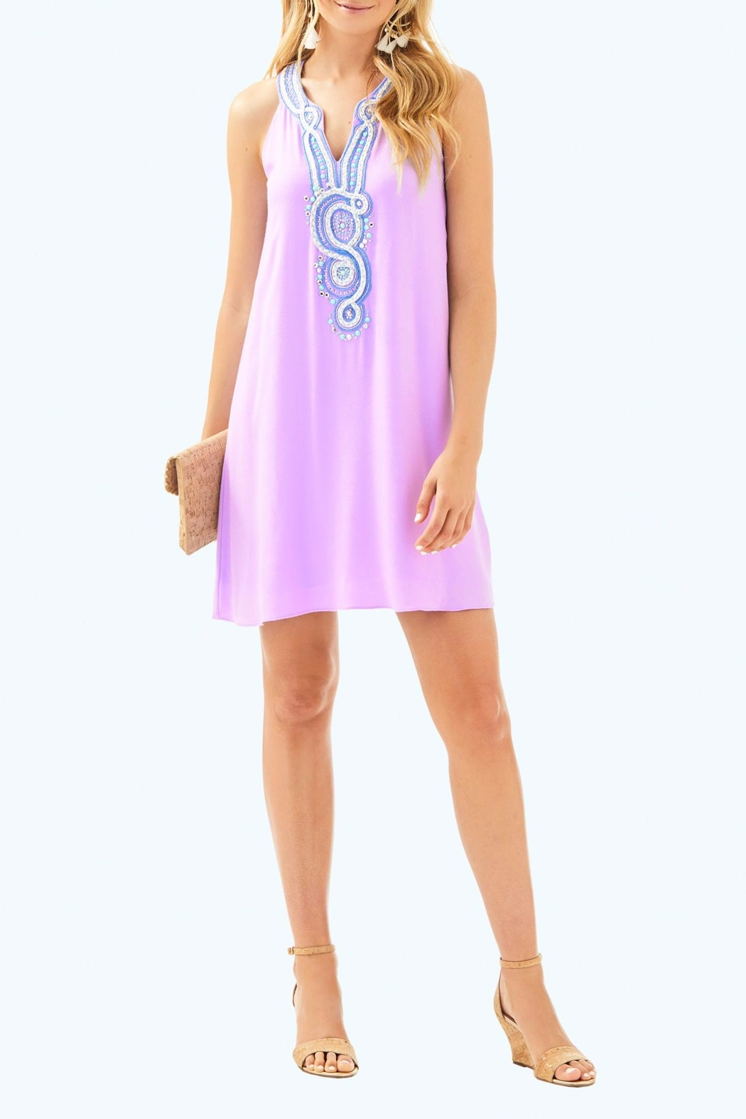 Lilly Pulitzer Valli Soft-Shift Dress - Back Cropped Image