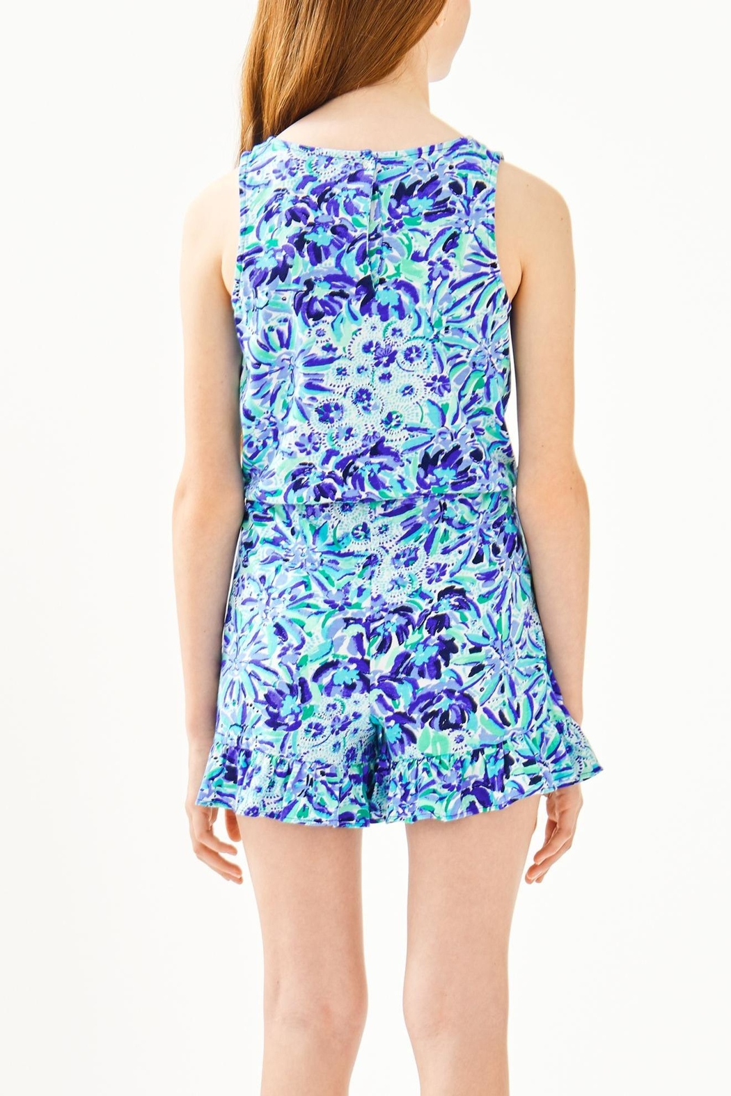 Lilly Pulitzer Venecia Romper - Side Cropped Image