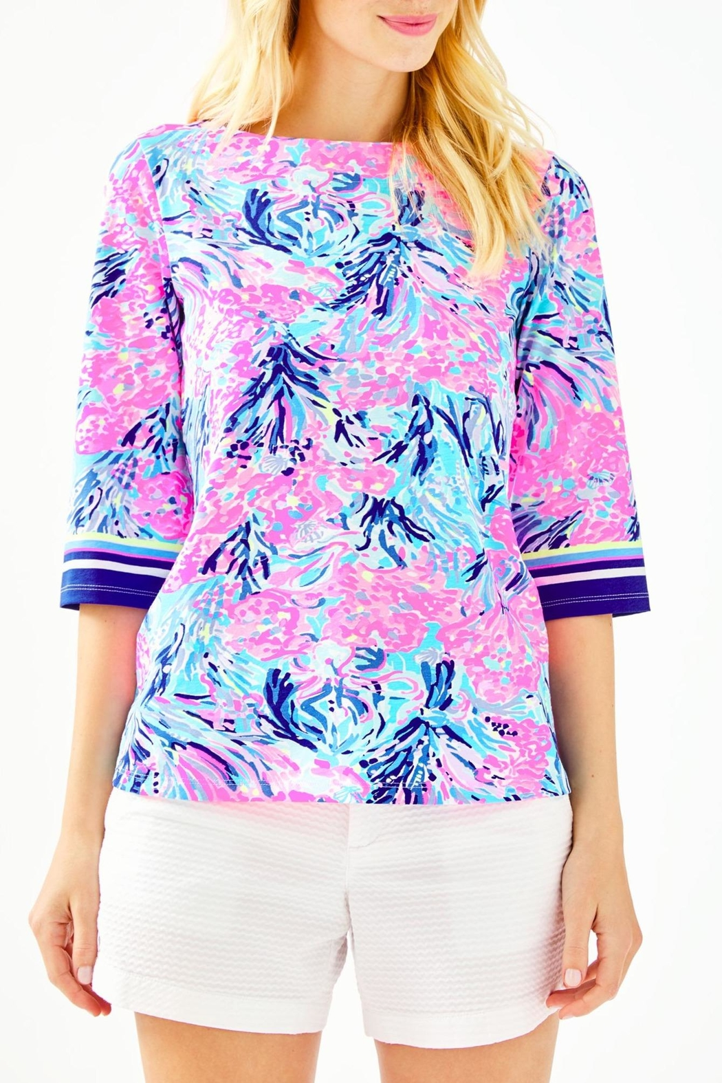 Lilly Pulitzer Waverly Top - Main Image