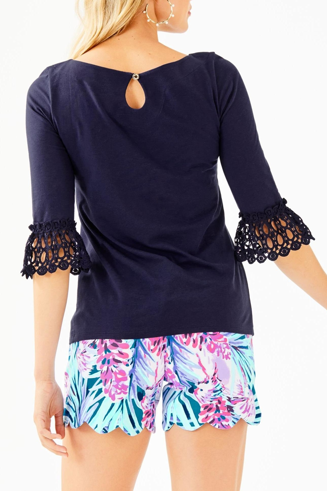 Lilly Pulitzer Waverly Top - Front Full Image