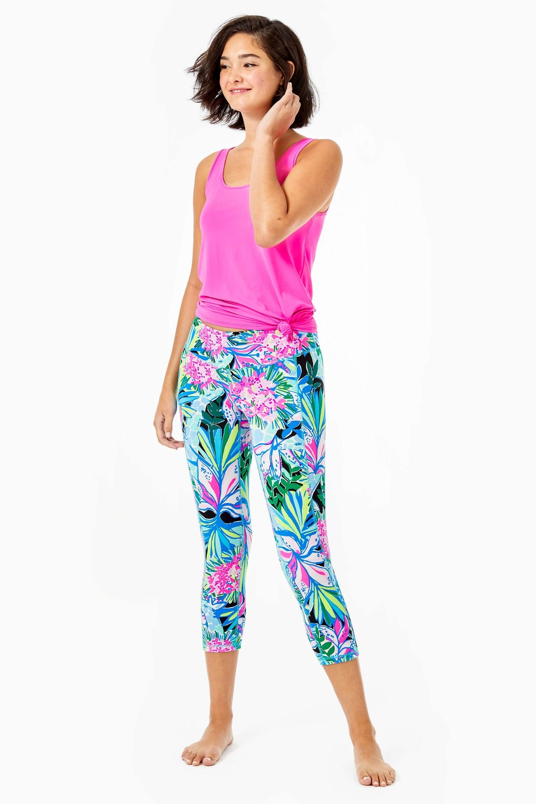 Lilly Pulitzer Weekender Crop Legging - Main Image