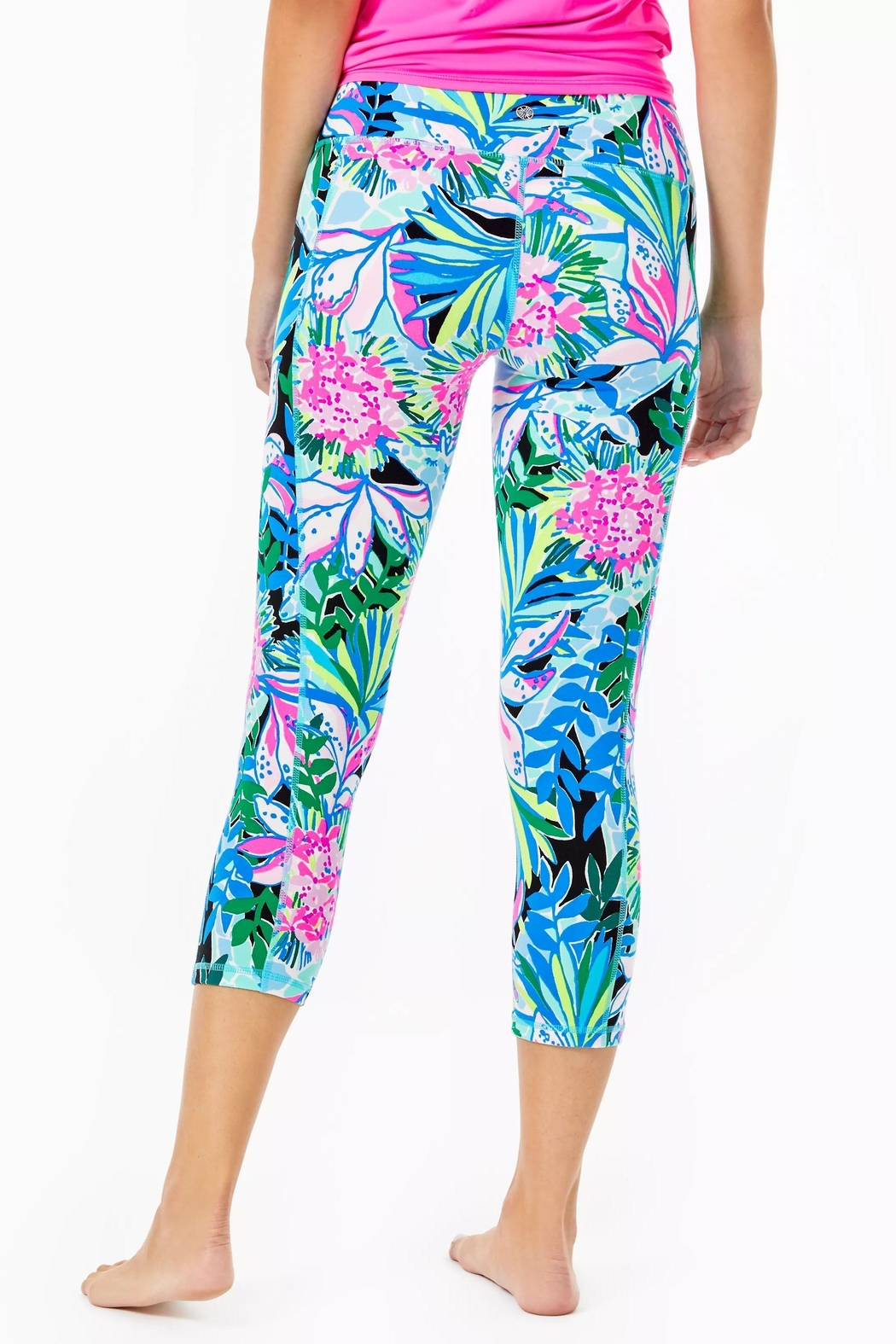 Lilly Pulitzer Weekender Crop Legging - Front Full Image