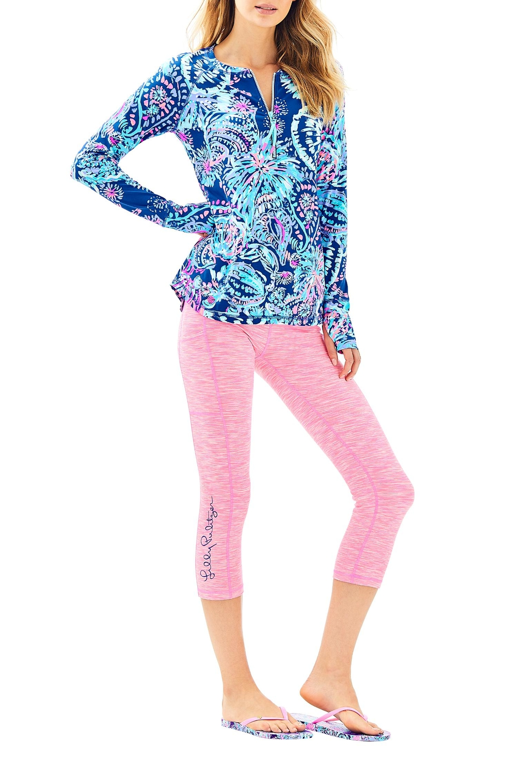 Lilly Pulitzer Weekender Crop Pant - Back Cropped Image