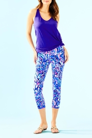 Lilly Pulitzer Weekender Cropped Legging - Back cropped