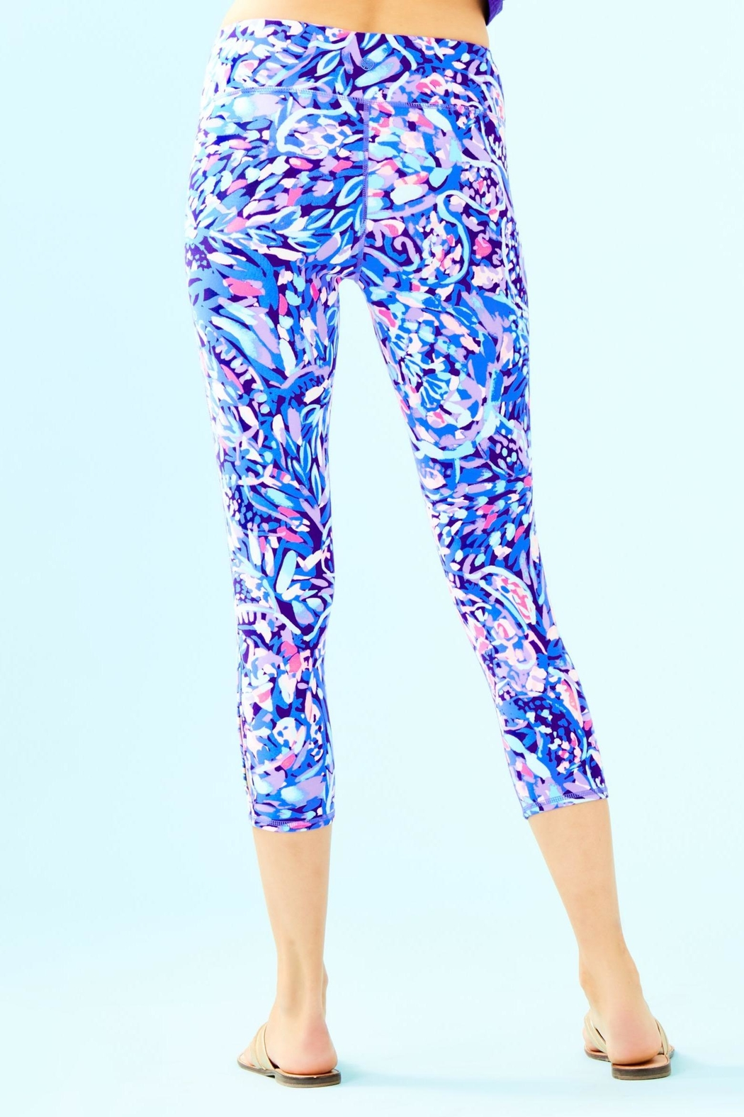 Lilly Pulitzer Weekender Cropped Legging - Front Full Image