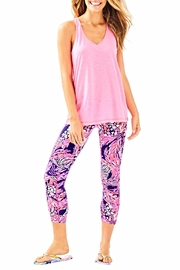Lilly Pulitzer Weekender Cropped Leggings - Back cropped