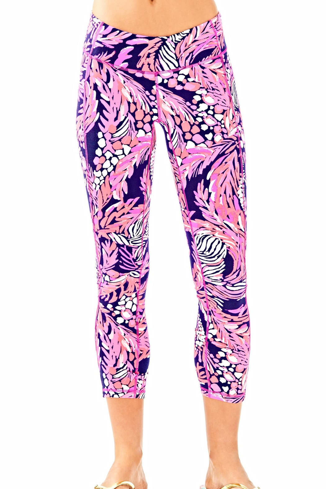 Lilly Pulitzer Weekender Cropped Leggings - Main Image