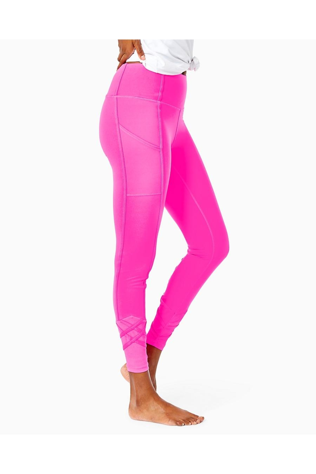 Lilly Pulitzer Weekender High-Rise Legging - Side Cropped Image