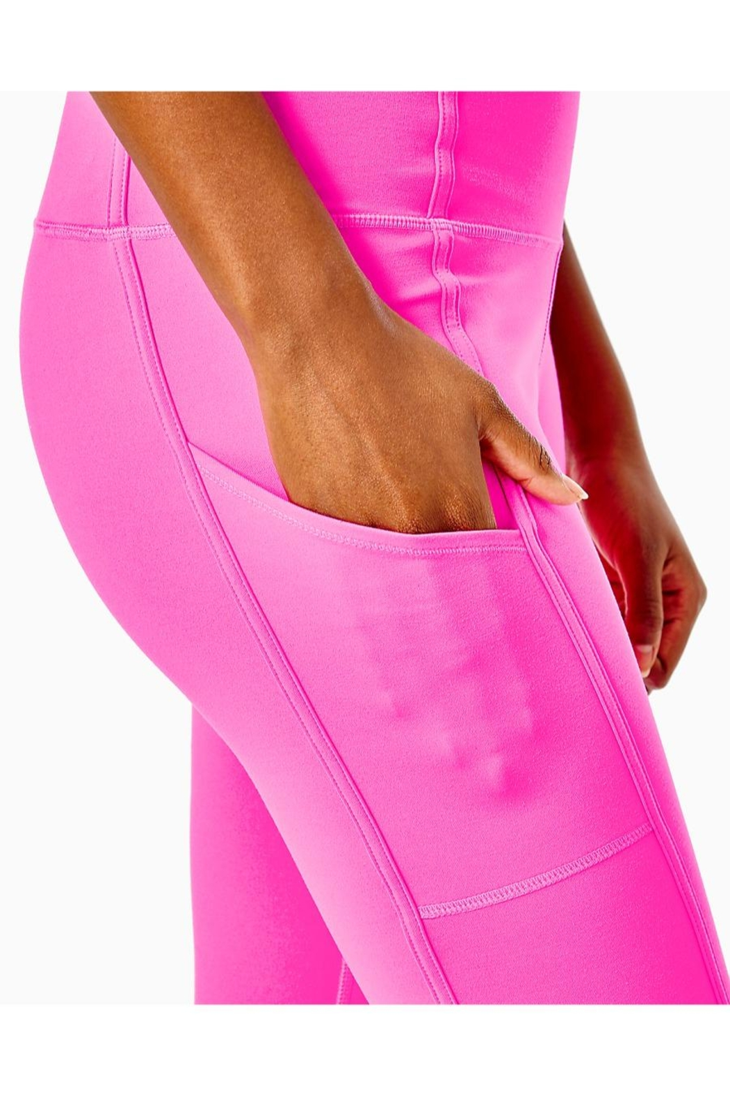 Lilly Pulitzer Weekender High-Rise Legging - Back Cropped Image