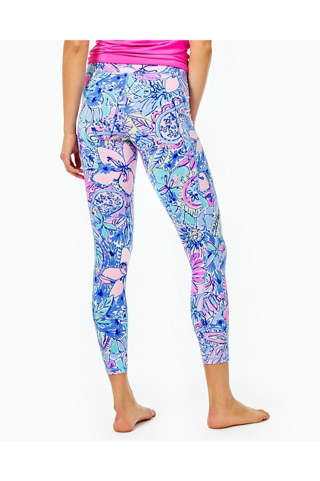 Lilly Pulitzer Weekender High-Rise Legging - Front Full Image