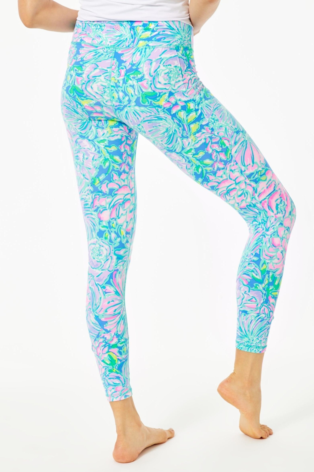 Lilly Pulitzer Weekender Legging - Front Full Image