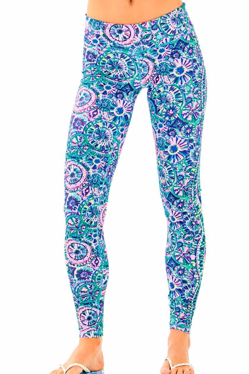 Lilly Pulitzer Weekender Legging - Front Cropped Image