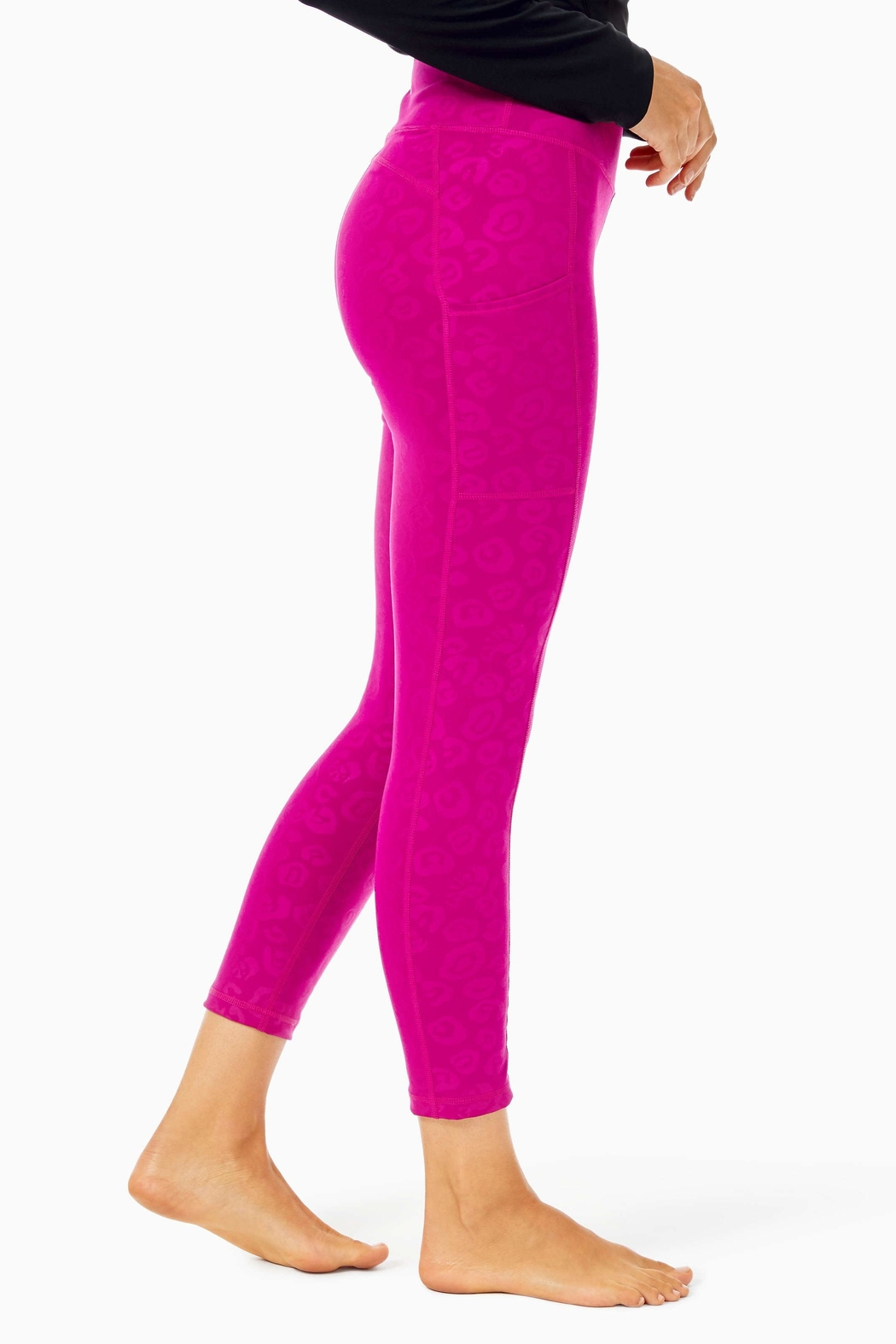 Lilly Pulitzer Weekender Midi Legging - Side Cropped Image