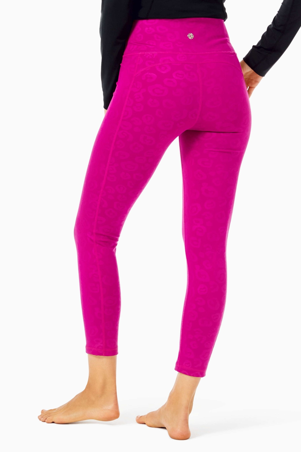 Lilly Pulitzer Weekender Midi Legging - Front Full Image