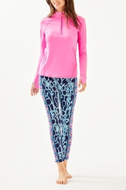 Lilly Pulitzer Weekender Midi Legging - Back cropped