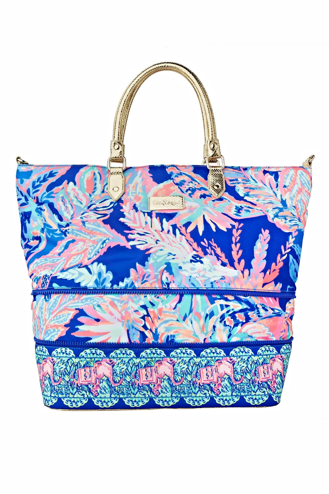 Lilly Pulitzer Weekender Travel Tote - Side Cropped Image