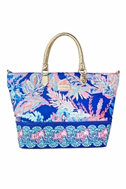 Lilly Pulitzer Weekender Travel Tote - Front cropped