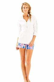 Lilly Pulitzer White Skipper Popover - Front cropped