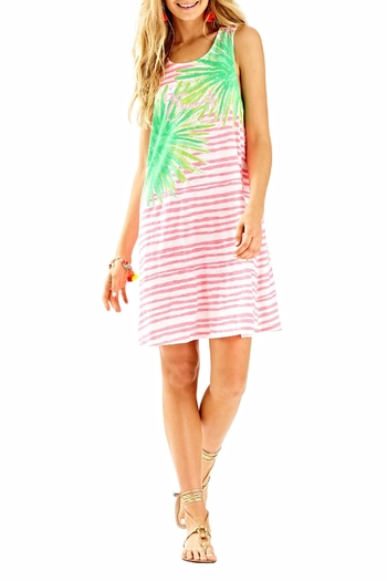 Lilly Pulitzer Striped Cover Up - Main Image