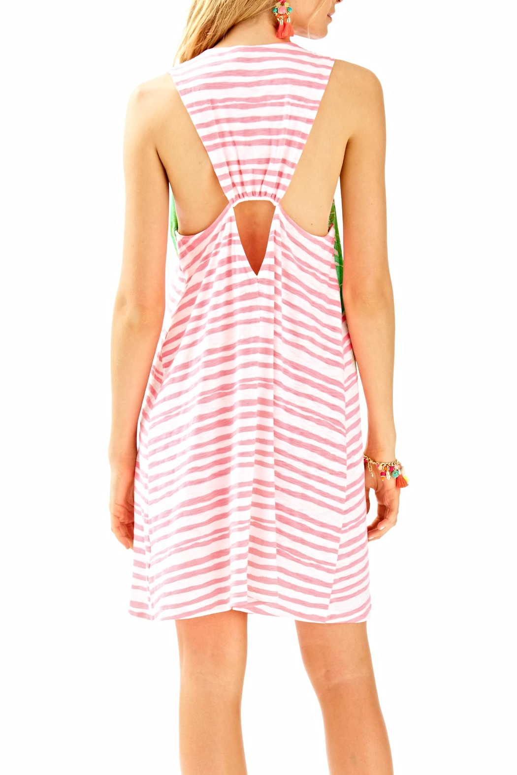 Lilly Pulitzer Striped Cover Up - Front Full Image