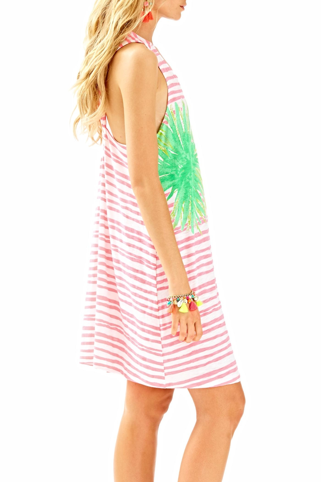Lilly Pulitzer Striped Cover Up - Side Cropped Image