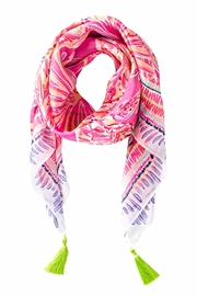 Lilly Pulitzer Willa Silk Scarf - Product Mini Image