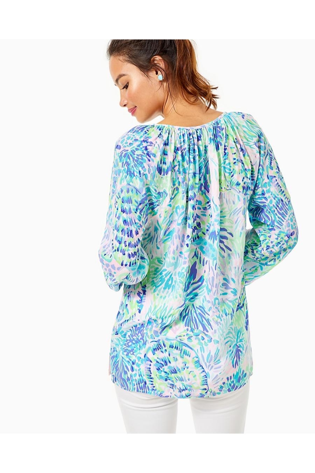 Lilly Pulitzer Willa Top - Front Full Image