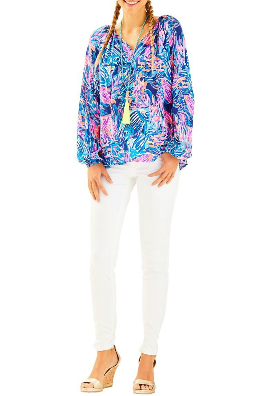 Lilly Pulitzer Willa Top - Main Image