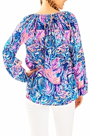 Lilly Pulitzer Willa Tunic Top - Front full body