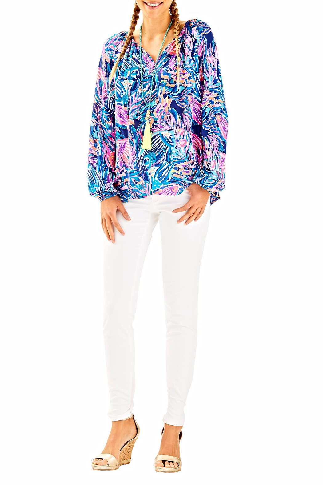 Lilly Pulitzer Willa Tunic Top - Main Image