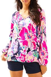 Lilly Pulitzer Willa Tunic Top - Front cropped