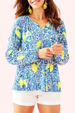 Lilly Pulitzer Willa Tunic Top - Product List Image