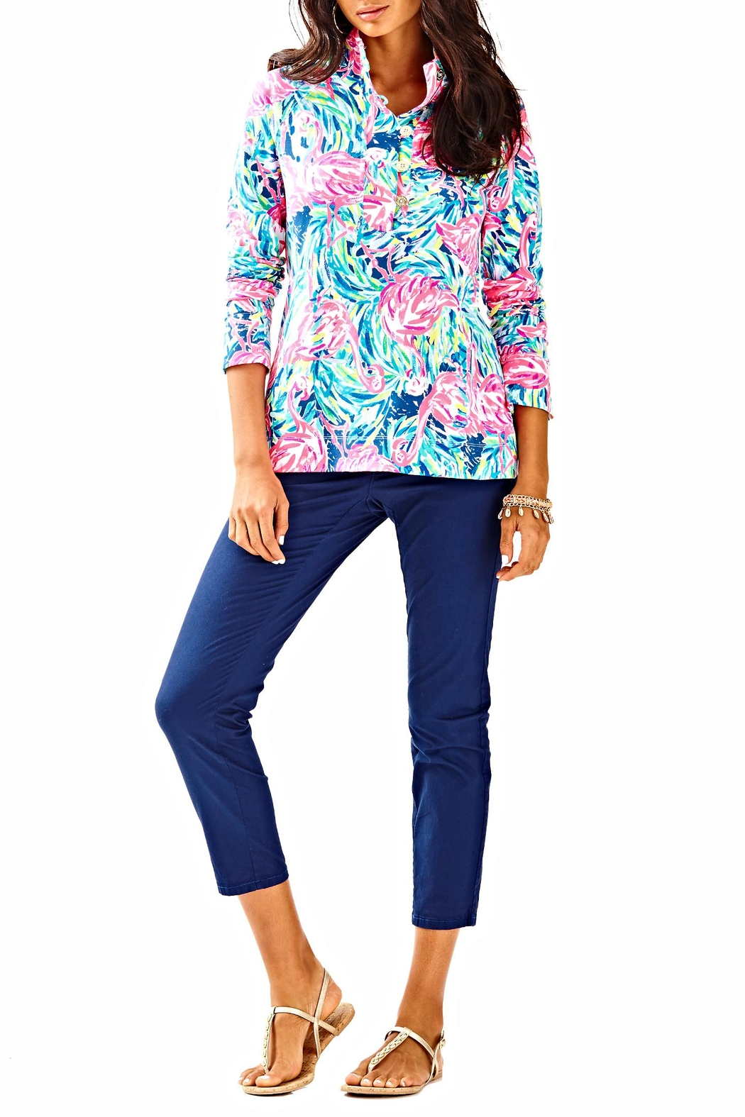 Lilly Pulitzer Windsor Top - Side Cropped Image
